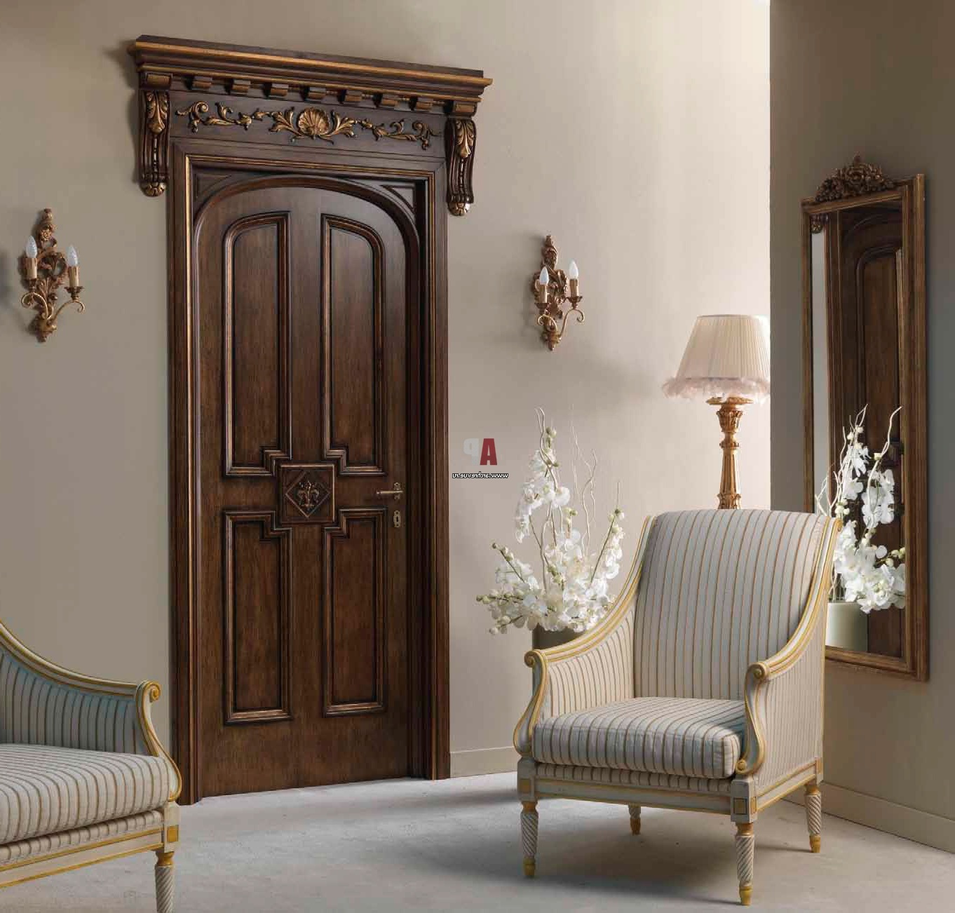 Luxury interior door design classic style – elite doors
