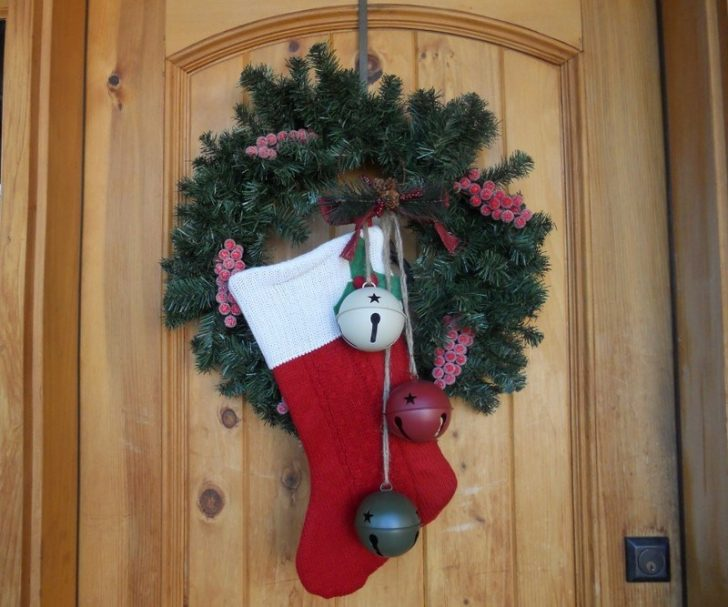 Christmas boots, where Santa puts gifts