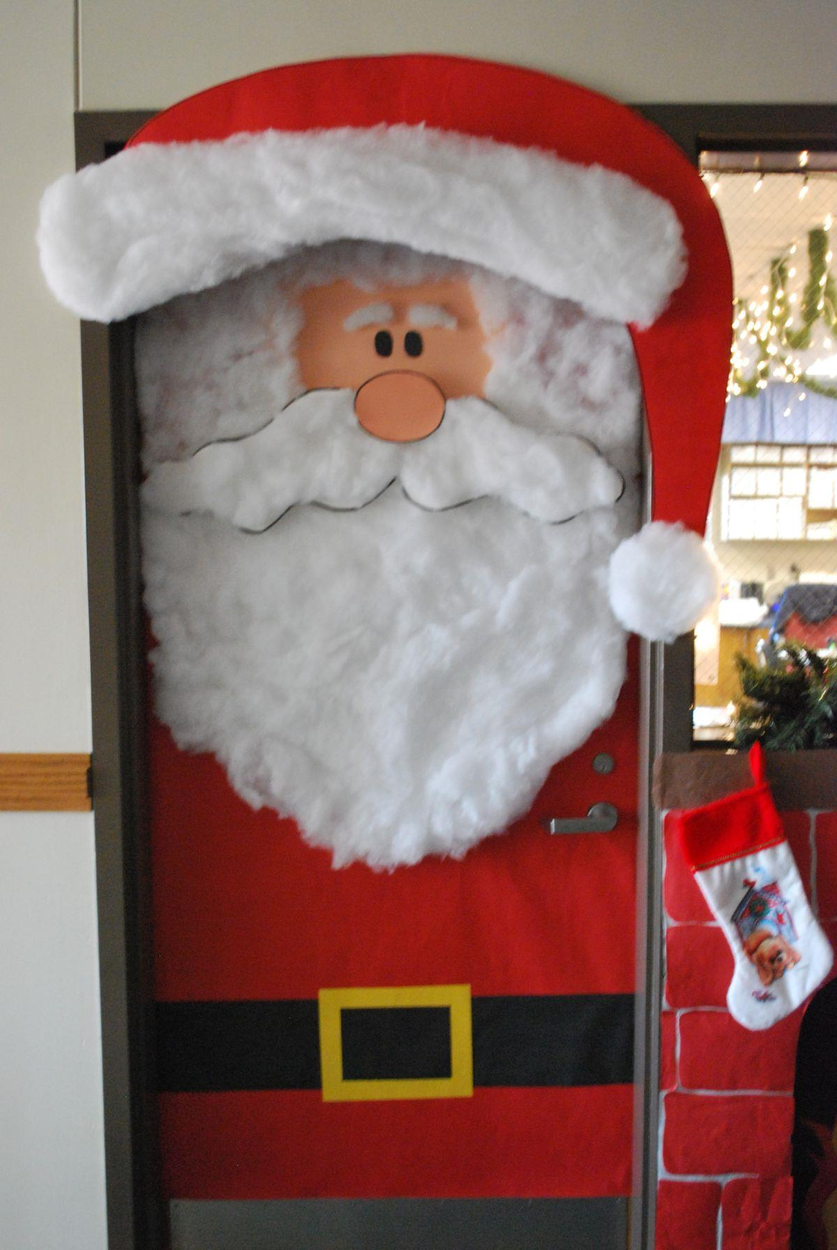 Santa Claus Door Decoration 28 Images