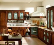 Small cozy kitchen in the Italian style