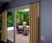 Curtain ideas for sliding patio doors