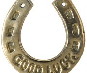 Decorative horseshoe – good luck