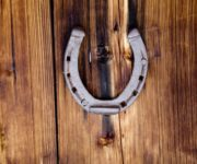 Horseshoe over the Door - a Talisman for good luck
