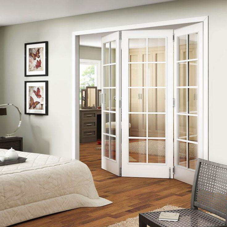 Luxary interior french double doors with glass for Full glass french doors