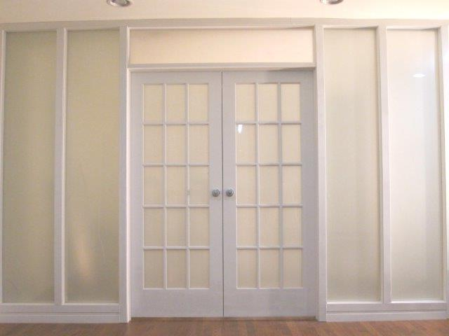 Interior french doors with frosted glass for Interior french doors