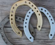 Iron Horseshoe - a talisman against evil forces