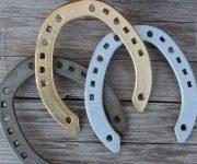 Iron Horseshoe - a talisman against evil forces