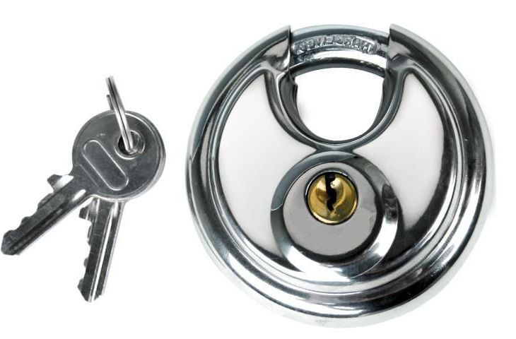 Disc padlock