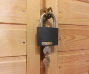 Door padlock