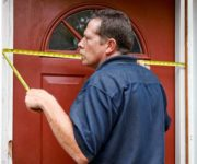 How to measure a front door