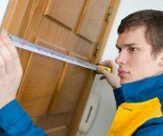 How to measure interior door size