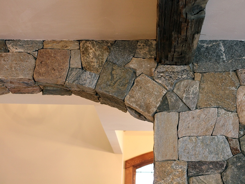 Decorative Interior Stone Veneer : Interior stone veneer doorway design ideas