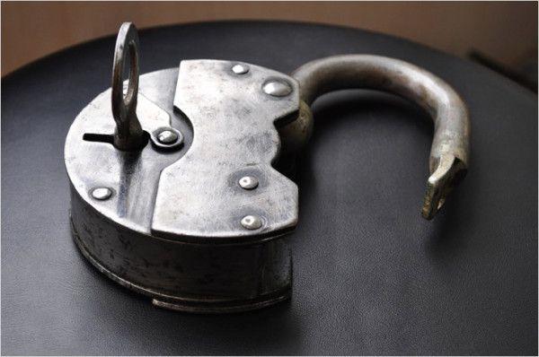 Padlock steel