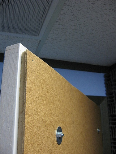 Soundproof bedroom door