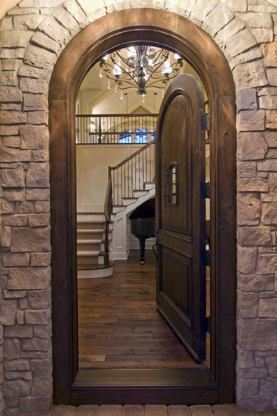 Door arches arched doorway for Door of stone