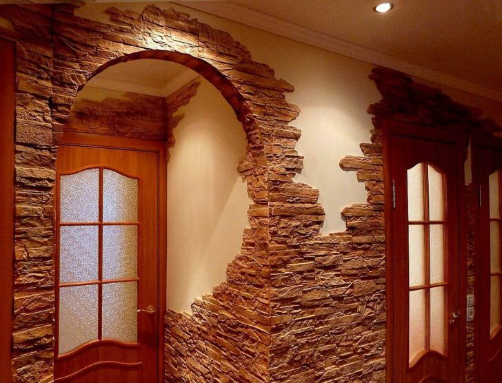 Home Inner Arch Design: Ornamental Stone Finishing Of Arches And Doorways: Design