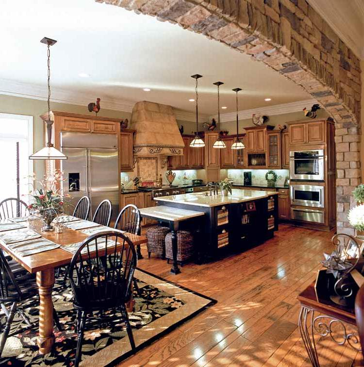 Kitchen Design Arch: Interior Stone Archways