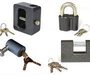 Types of padlocks according to their design