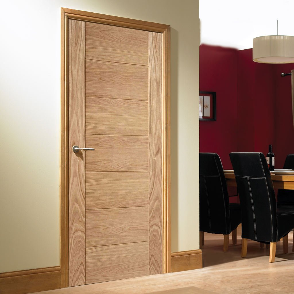 30 minute oak fire door