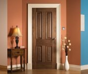 Domestic oak fire doors