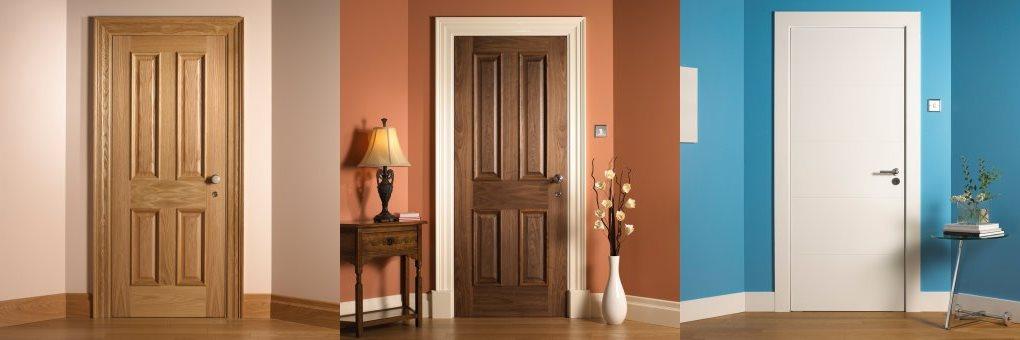 Domestic oak fire doors