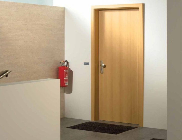 External fire doors for flats