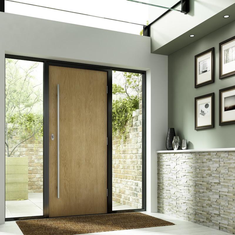 External oak fire doors
