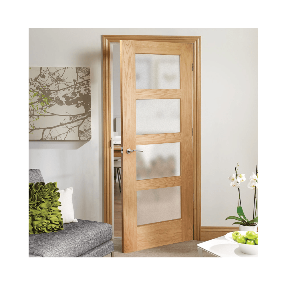 FD30 oak fire door