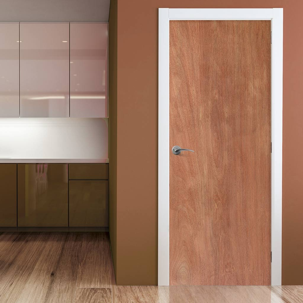 FD60 oak fire door