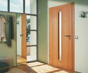 Fire rated exterior doors