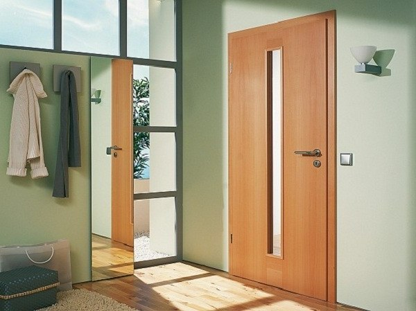 Fire rated exterior doors
