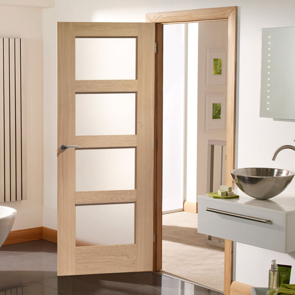 White interior oak fire doors fire rated oak doors with glass planetlyrics Gallery