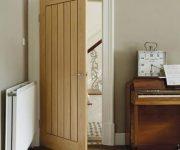 Hardwood fire doors
