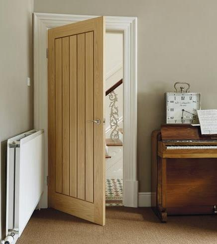 Hardwood fire doors