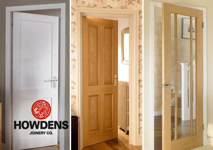 Howdens external fire doors