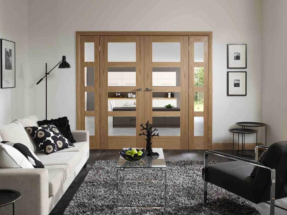 6 Panel Oak Fire Doors
