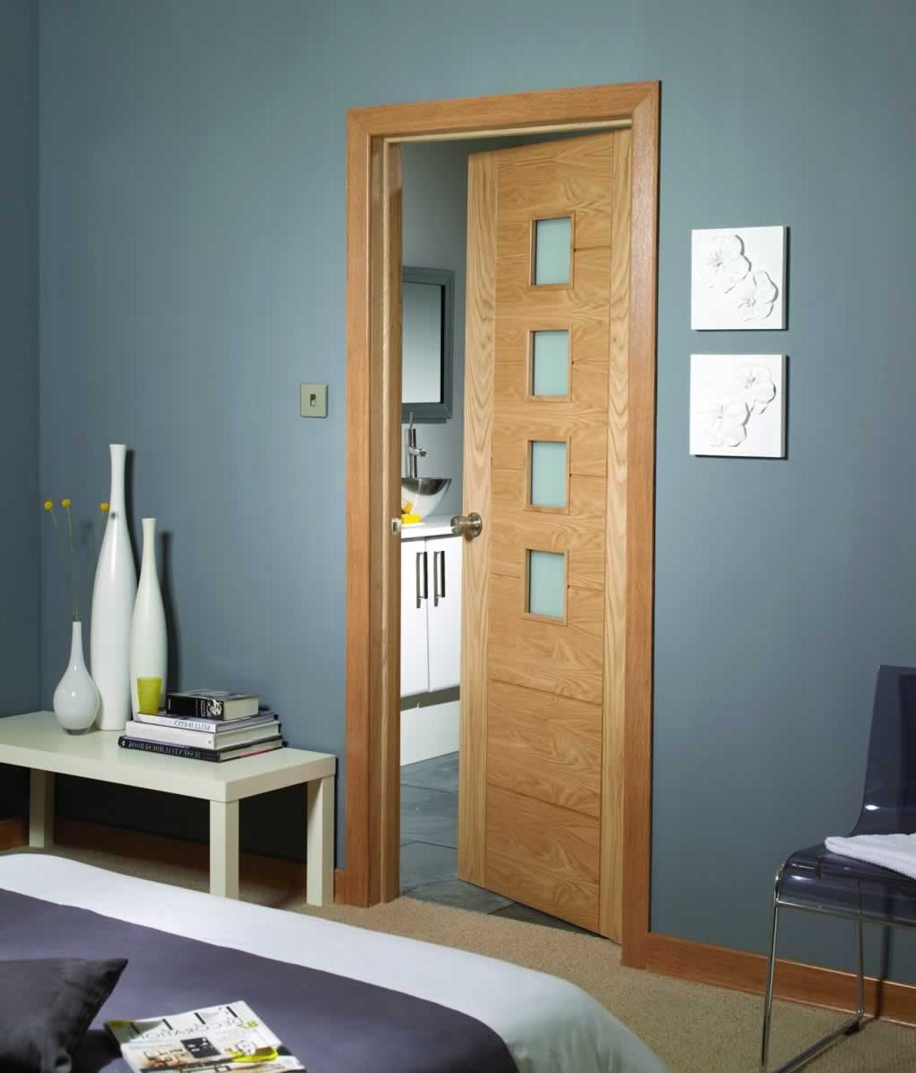 Internal oak fire doors