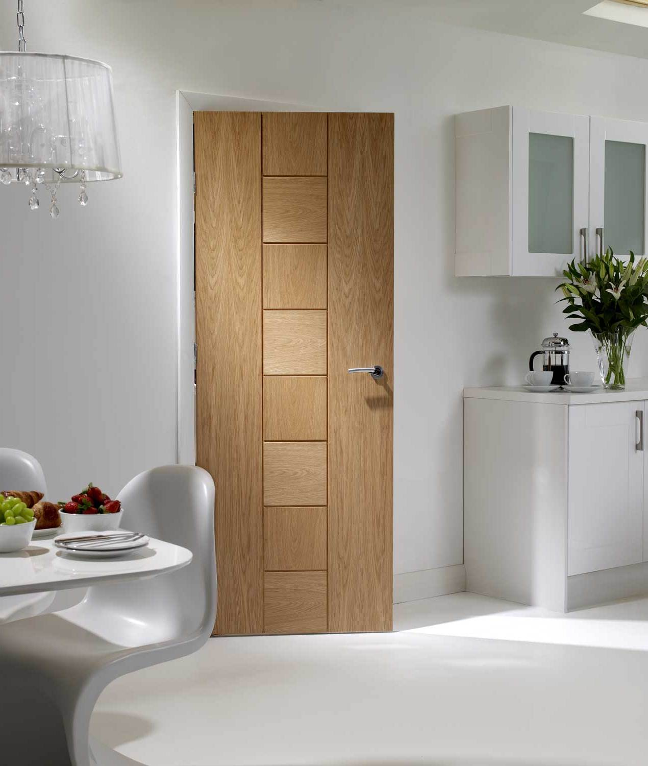 Oak fire doors uk for kitchen