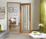 Oak glazed fire doors design ideas