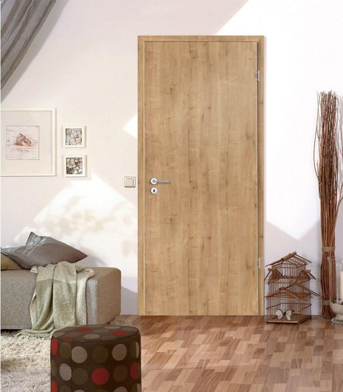 Rustic fire proof oak doors