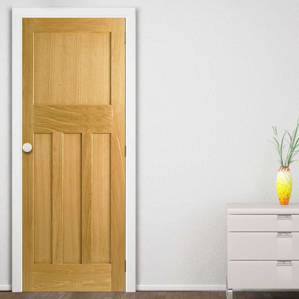Solid oak fire doors