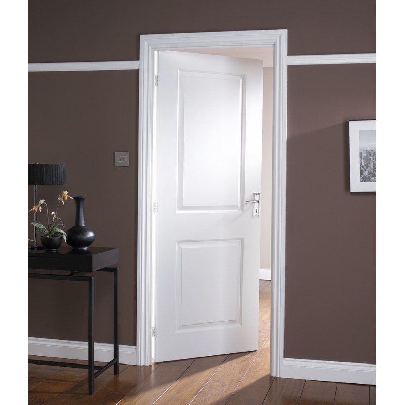 White oak fire door