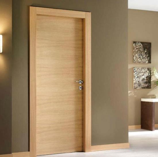 Wooden fire doors