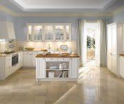 Ceramic tiles flooring for kitchen contry stile