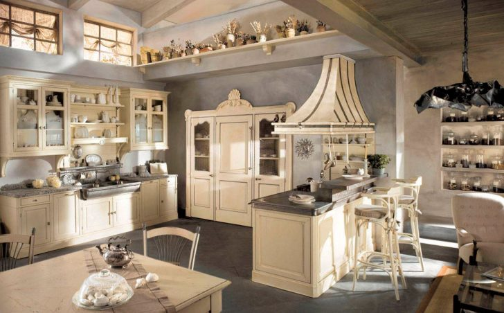 Country Style Kitchen Design Ideas 728x452 - Country-Style Kitchens