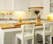 Country Style Kitchen Island Countertop