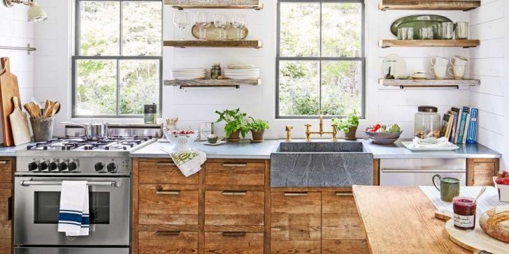 Country kitchen decor ideas 728x364 - Country-Style Kitchens