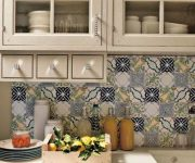 Cupboards for kitchen utensils in country style