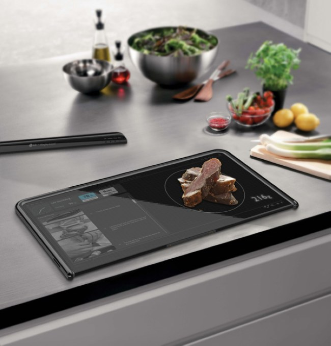 Modern Electronic scales - high tech kitchen gadgets