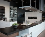 Modern interior design styles High tech kitchen design 180x150 - High-Tech Kitchen